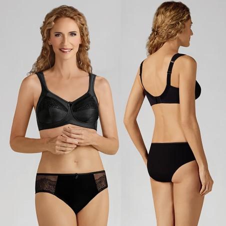 Ensemble lingerie, soutien-gorge sans armatures, slip pour faux seins