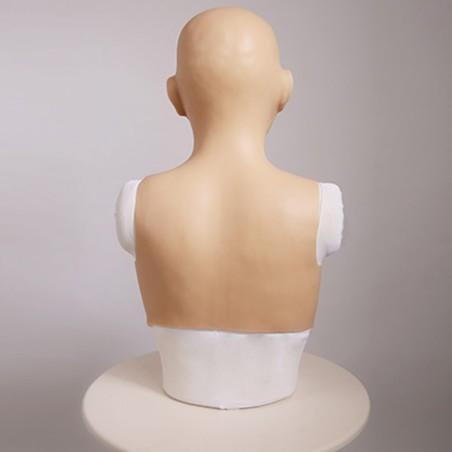 Buste poitrine, masque intégré, Bonnet D