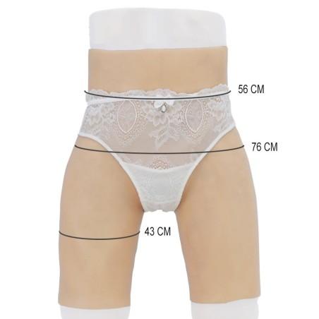 Panty faux vagin en silicone, rehausseur de fesses