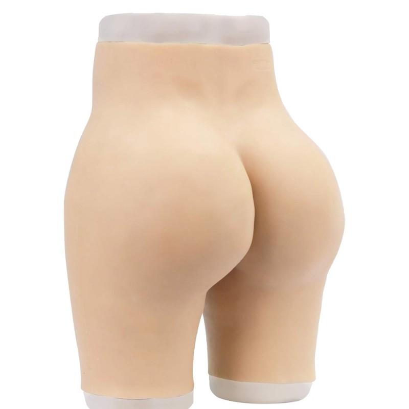 Panty réaliste en silicone, pour rehausser les fesses