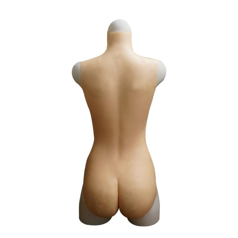 Body faux seins silicone avec faux vagin