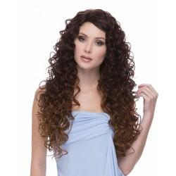 Perruque longue frisée indétectable, une chevelure de sirène