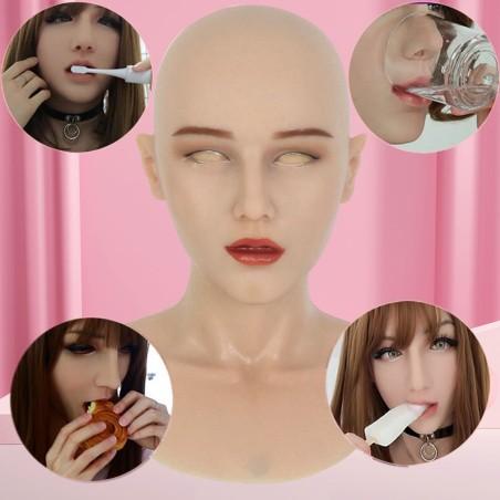 Masque en silicone tête pleine, un réalisme surprenant