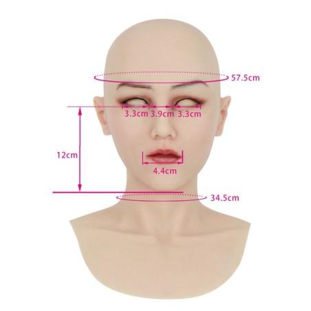 Masque en silicone tête pleine, un accessoire de séduction