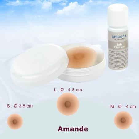 Mamelons auto adhérents + lotion