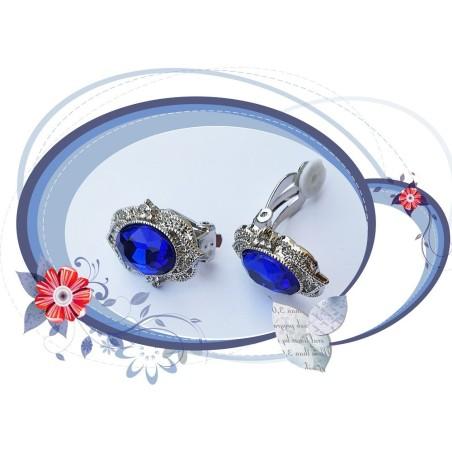 Boucles d'oreilles clips romantique